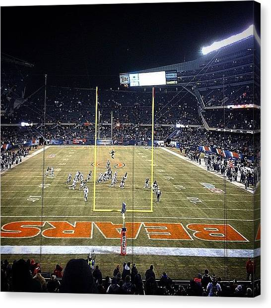Football Teams Canvas Print - Instagram Photo by Aaron Kahn
