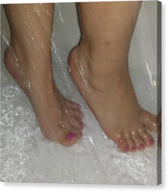 Feet Canvas Print - Instagram Photo by Sexi Feet Luzy