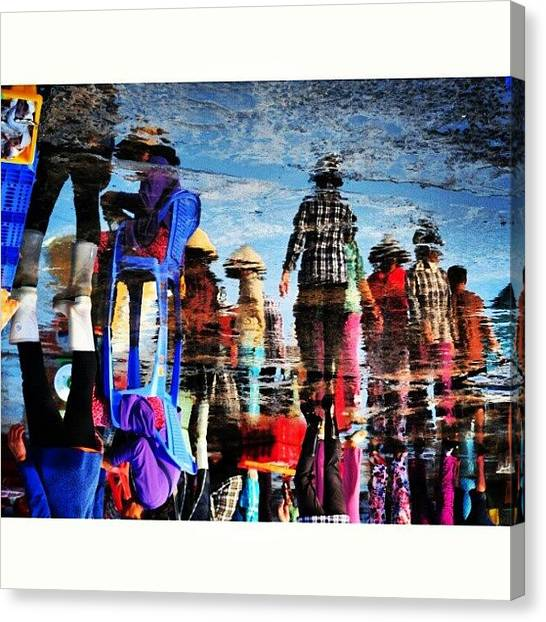 Backpacks Canvas Print - Instagram Photo by An Chung