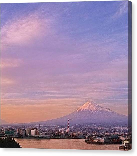 Factories Canvas Print - Instagram Photo by Ginji Fukasawa