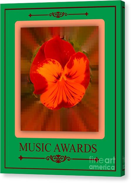 Music Awards Canvas Print by Meiers Daniel