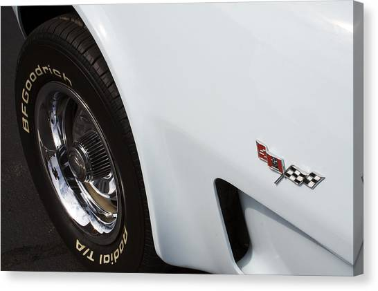 1978 Canvas Print - '78 Vette by Mike Maher