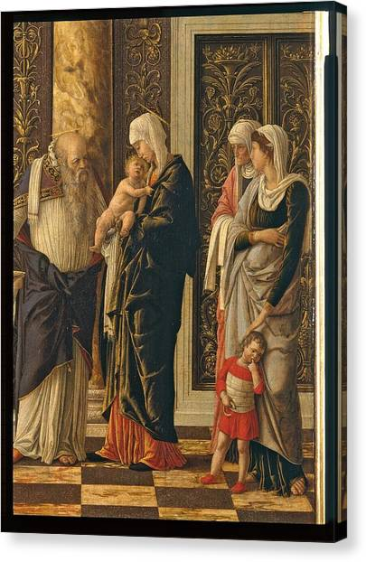 The Uffizi Gallery Canvas Print - Italy, Tuscany, Florence, Uffizi by Everett