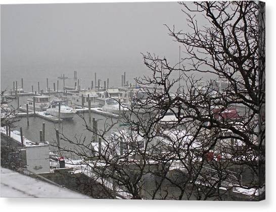 79th Street Boat Basin Canvas Print