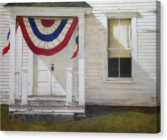 7th Of July Canvas Print by Stephen Hodecker