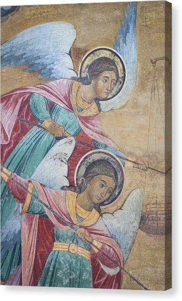 Orthodox Art Canvas Print - Bulgaria, Southern Mountains, Rila by Walter Bibikow