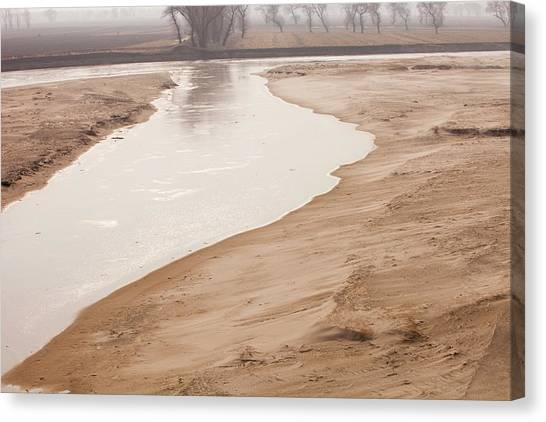 Global Warming Canvas Print - Drought by Ashley Cooper