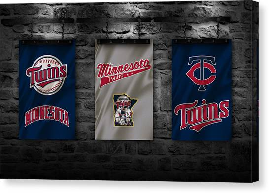 Minnesota Twins Canvas Print - Minnesota Twins by Joe Hamilton