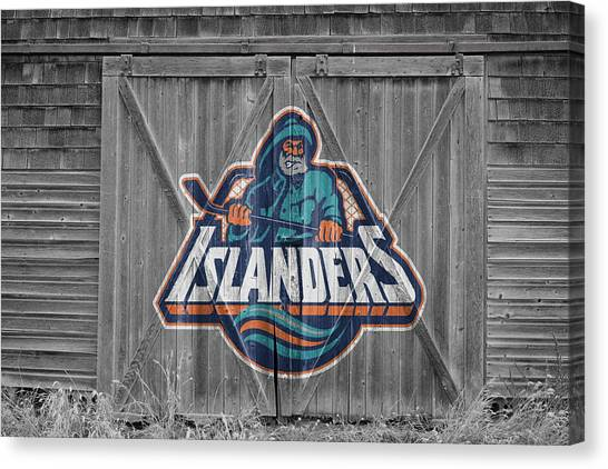 New York Islanders Canvas Print - New York Islanders by Joe Hamilton