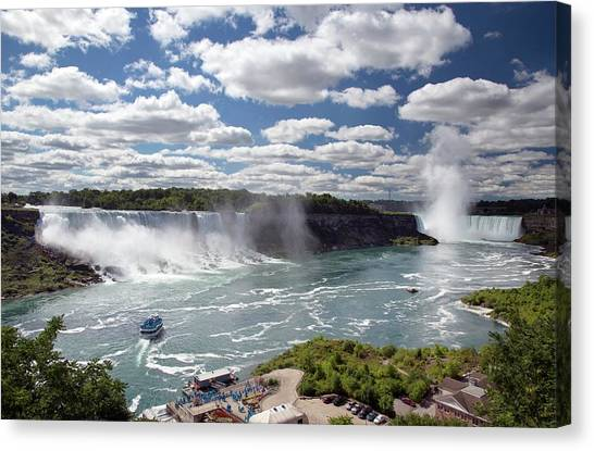 Horseshoe Falls Canvas Print - Niagara Falls by Jim West