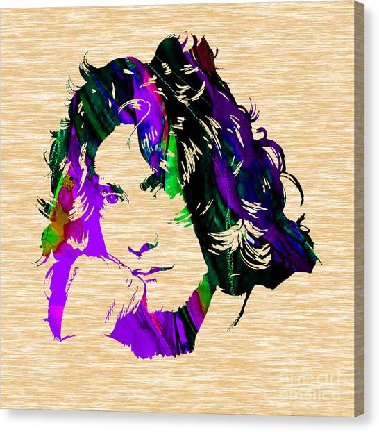 Led Zeppelin Canvas Print - Robert Plant Collection by Marvin Blaine