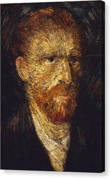 Nederland Canvas Print - Self-portrait by Vincent van Gogh