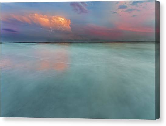 Sunset On Hilton Head Island Canvas Print