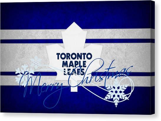 Toronto Maple Leafs Canvas Print - Toronto Maple Leafs by Joe Hamilton