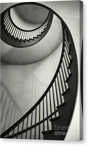 Spiral Canvas Print - Untitled by Greg Ahrens