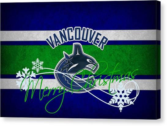 Vancouver Canvas Print - Vancouver Canucks by Joe Hamilton