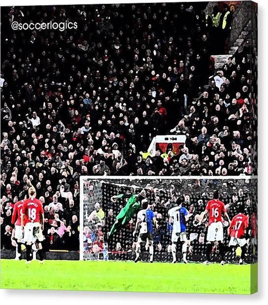 Soccer Canvas Print - Instagram Photo by Soccer Logics