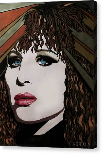 80's Barbra Canvas Print