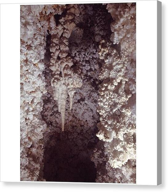 Stalagmites Canvas Print - Instagram Photo by Alyson Von