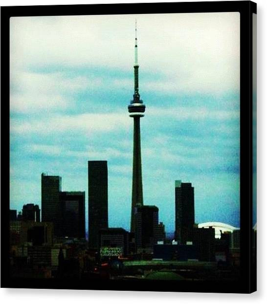 Toronto Skyline Canvas Print - Instagram Photo by Carina Ro