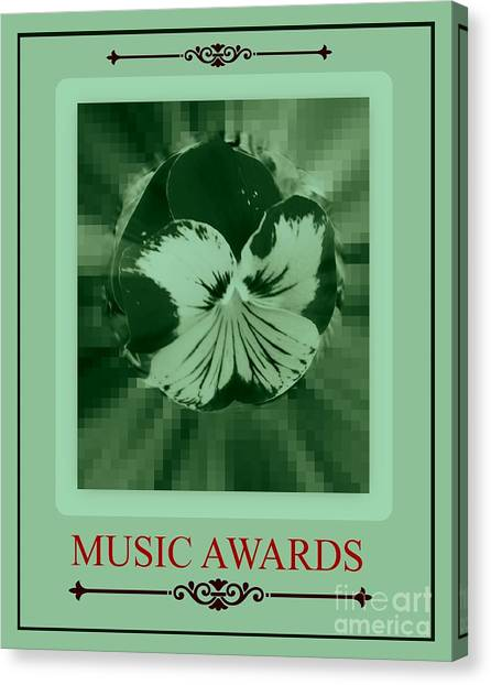 Music Awards Canvas Print by Meiers Daniel