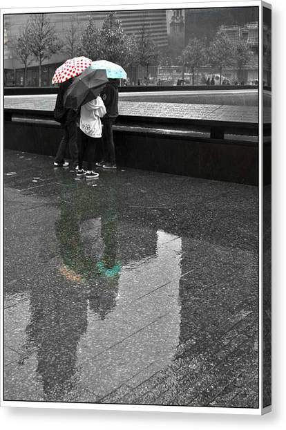 8455 Strong Reflections Canvas Print by Deidre Elzer-Lento