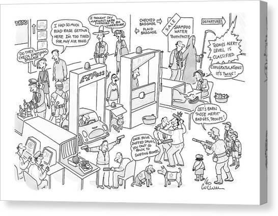 New Yorker November 27th, 2006 Canvas Print