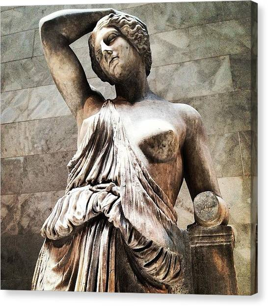 Roman Art Canvas Print - Instagram Photo by Miguel Grullon