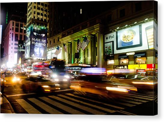 8th And 34th  Canvas Print