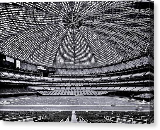 Houston Texans Canvas Print - 8th Wonder by Benjamin Yeager
