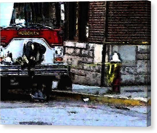 9/11 Heroes  Canvas Print