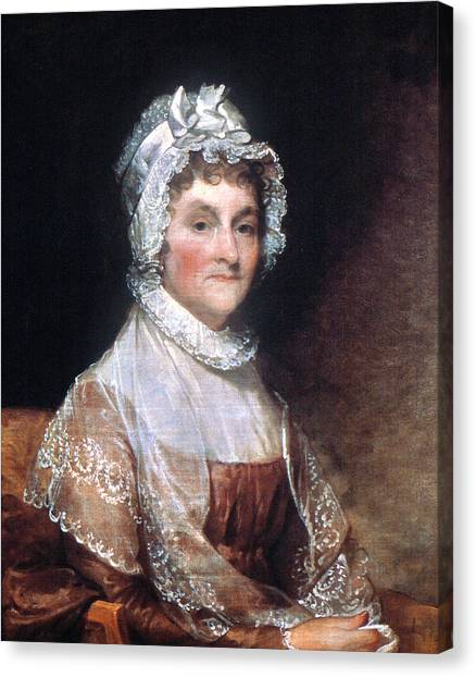 First Lady Canvas Print - Abigail Adams (1744-1818) by Granger