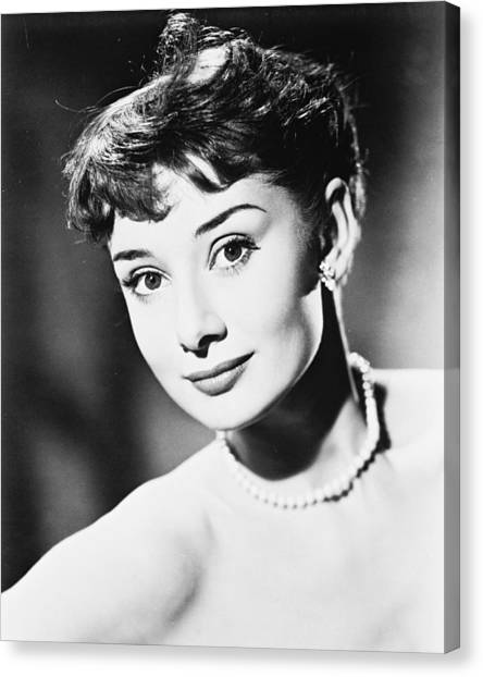 Audrey Hepburn Canvas Prints | Fine Art America