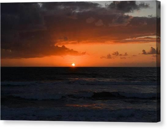 Beach Canvas Print by William Watts