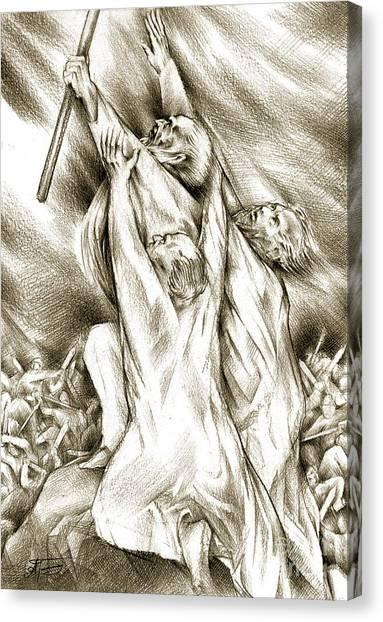 Biblical Illustration Canvas Print