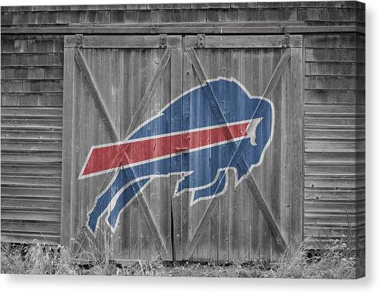 Buffalo Bills Canvas Print - Buffalo Bills by Joe Hamilton