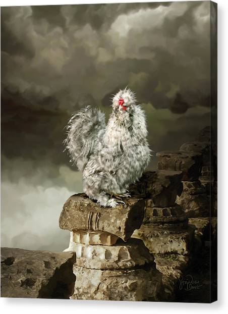 9. Cuckoo Angela Canvas Print