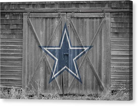 Touchdown Canvas Print - Dallas Cowboys by Joe Hamilton