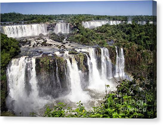 Iguazu Falls Canvas Print - Iguazu Falls - South America by Jon Berghoff