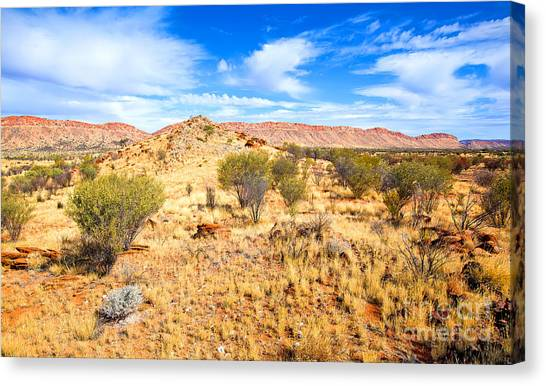 West Mcdonnell Ranges Larapinta Drive Canvas Print