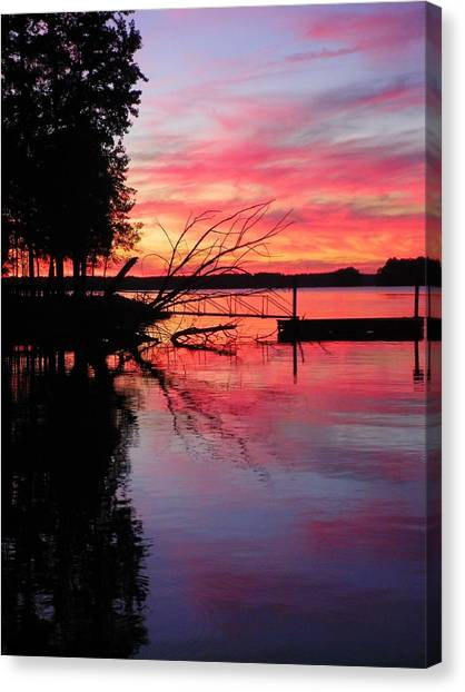 Sunset 9 Canvas Print