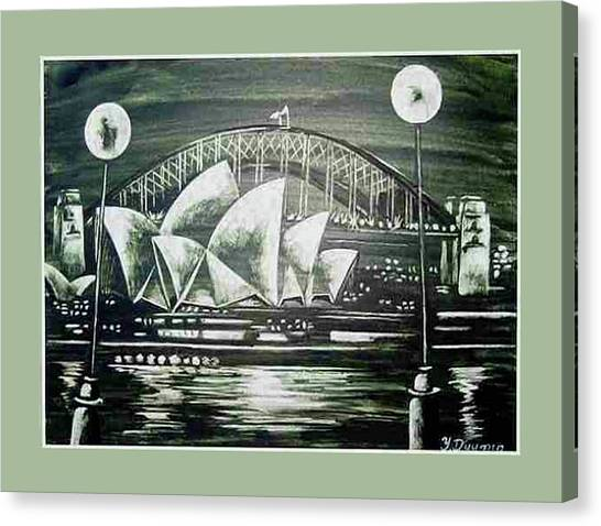 Sydney Opera House Canvas Print by Yelena Revis