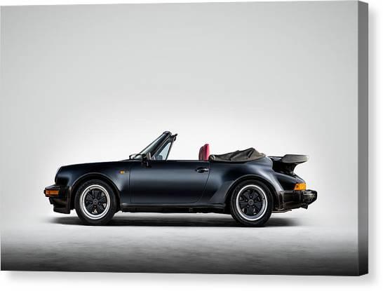 Porsche Canvas Print - 911 Cabrio by Douglas Pittman
