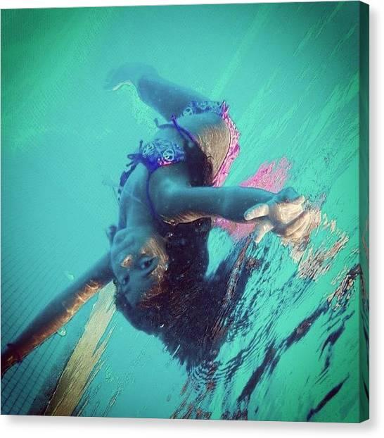 Bikini Canvas Print - Instagram Photo by Laura OConnell