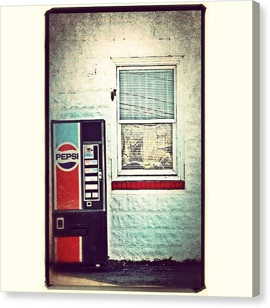 Pepsi Canvas Print - Instagram Photo by Kris Cox