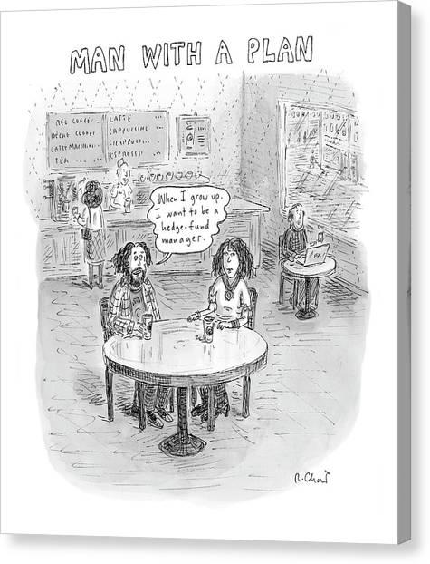 New Yorker April 9th, 2007 Canvas Print
