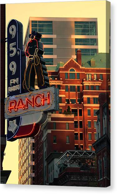 95.9 The Ranch  Canvas Print