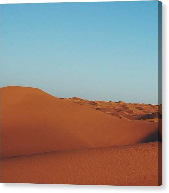Sahara Desert Canvas Print - Sahara I by Angel Mehechen