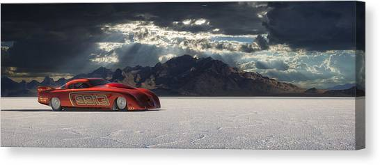 Salt Canvas Print - 9913 by Keith Berr