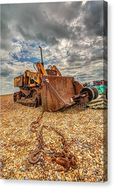 A Bad Case Of Rust Canvas Print